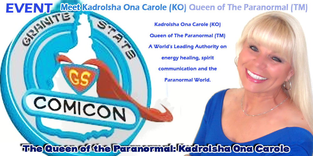 Kadrolsha Ona Carole (KO) Queen of The Paranormal (TM) A World's Leading Authority on energy healing, spirit communication and the Paranormal World.