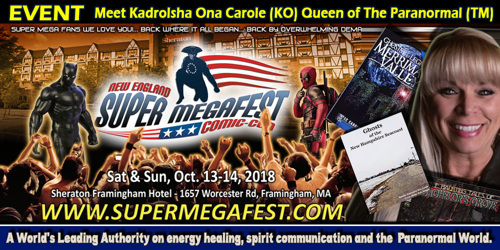 NEW ENGLAND SUPER MEGAFEST COMIC CON