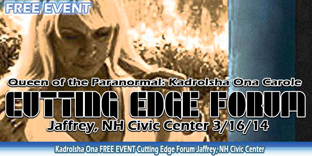 Cutting Edge Forum